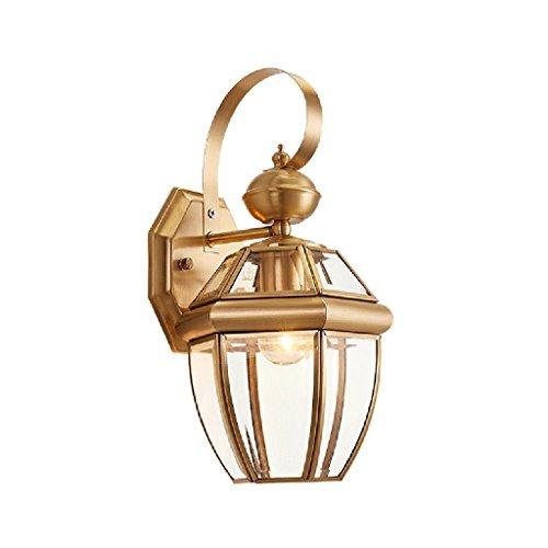 Wandleuchten Moderne Einfache Kupfer Lampen Für Dekorieren Schlafzimmer Studie Nacht Gang Korridor Treppen Kreative Leuchten