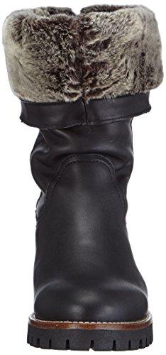 Panama jack tania b7 bottes  pour femme Noir (Black)