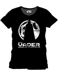Star Wars Star Wars Rogue One - Vader Shadow T-shirt Homme Noir (Noir) Large