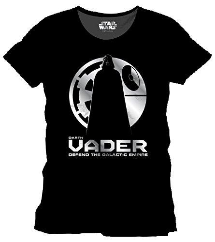 Preisvergleich Produktbild Star Wars Herren T-Shirt Rogue One-Vader Shadow, Schwarz (Noir), XX-Large