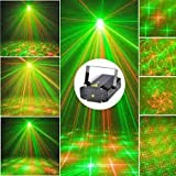 Inglis Lady Elevanto Mini Laser Projector Stage Lighting Sound Activated Laser Light for Party and Dj - Design Sound Activated