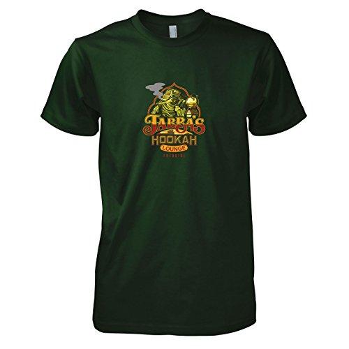 (TEXLAB - SW: Jabba's Lounge - Herren T-Shirt, Größe S, flaschengrün)
