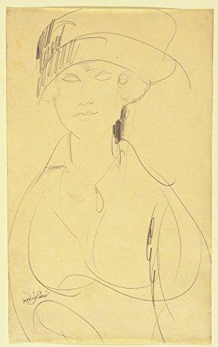 Das Museum Outlet-Amedeo Modigliani-Portrait of a Woman-poster print Online kaufen (101,6x 127cm) - Amedeo Modigliani Gerahmte Leinwand
