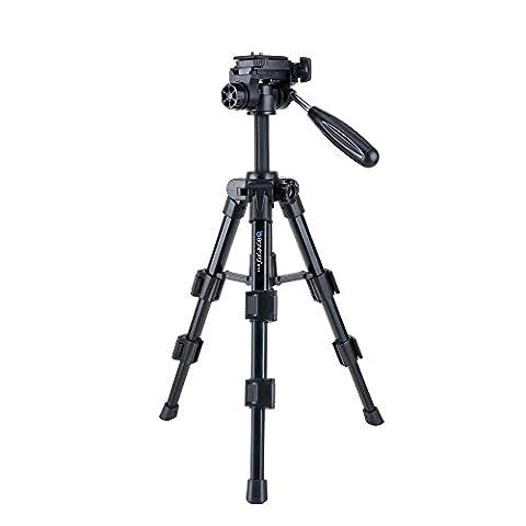 BONFOTO B71T tragbare leicht Kompaktkamera Pro 52CM mit MiniStativ und granulierende Schnellwechselplatte für eine digitale