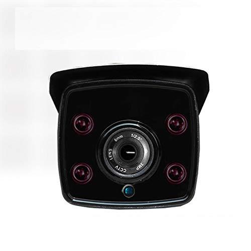 HD CCTV Sicherheit Kamera 1080P Home Security Tag Und Nacht, H.265 Wasserdichte Outdoor-Kamera Infrarot-Nachtsicht,White-1/3(inch)