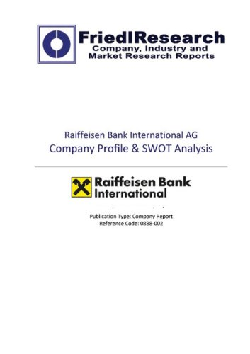 raiffeisen-bank-international-ag-swot-analysis-company-report