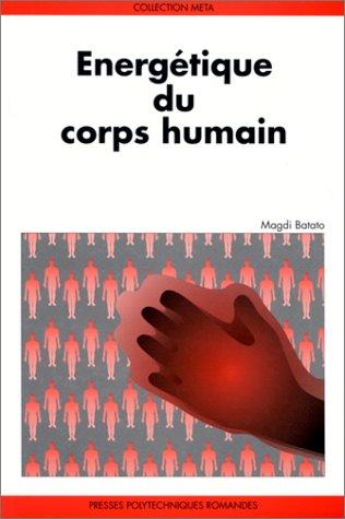 Energétique du corps humain