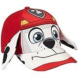 Cerdá Paw Patrol Marshall, Gorra para Niños, Rojo, M(Tamaño del Fabricante:M)