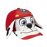 Paw Patrol Marshall Gorra Premium con Orejas, Color Rojo, M(Tamaño del Fabricante:M) (Artesanía Cerdá 2200002242)