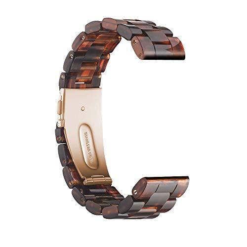 YaYuu 22mm Resina Cinturino Samsung Galaxy Watch 46mm Bracciale Ultraleggero Polso Banda Ricambio Sportivo Strap per Gear S3 Frontier/Classic/Moto 360 2nd Gen 46mm/Huawei Watch 2 Classic/Ticwatch PRO