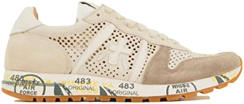 PREMIATA Herren Sneaker Weiß Bianco  Billig und erschwinglich Im Verkauf