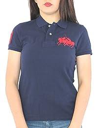 Polo Ralph Lauren - T-Shirt - Femme Bleu Bleu Marine c92ea67e28c