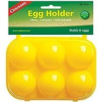 Coghlans Egg Holder - Utensilio de cocina para acampada, color amarillo