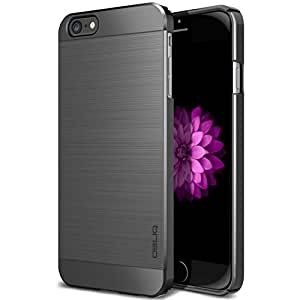 iPhone 6 Plus Case, Obliq [Slim Meta] Ultra Slim Fit [All Around Protection] iPhone 6 (5.5) Cases [Titanium Space Gray] - Premium Dual Coated Polycarbonate Elegant Modern Minimalistic Design - Best Apple iPhone 6 case for 5.5 Inch (2014)-(Does NOT fit iPhone 5 5S 5C 4 4s or iPhone 6 4.7 inch 6s screen) - Titanium Space Gray