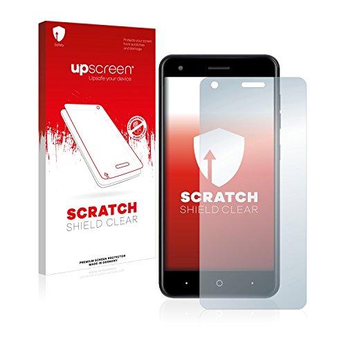 upscreen Scratch Shield Displayschutzfolie für ZTE Blade X Schutzfolie – Kristallklar, Kratzschutz, Anti-Fingerprint