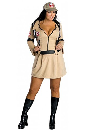 Damen Plus Größe Ghostbuster Kostüm