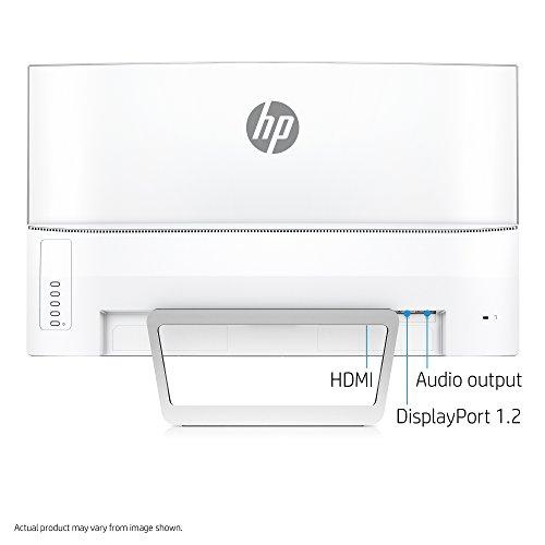 HP Z4N75AA 27-inch Curved LED Monitor (White)