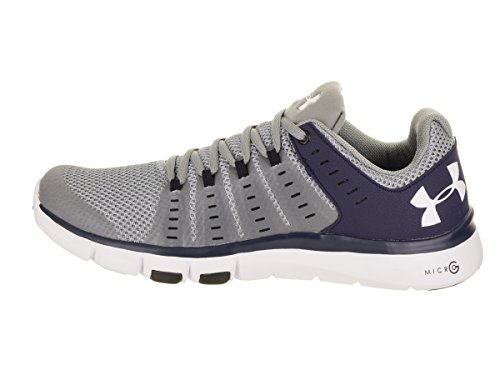 Under Armour UA Charged Bandit 3, Running Homme Steel/Midnight Navy/White