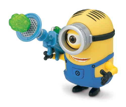 Despicable Me 2 - Deluxe Action Figure - Stuart with Fart Dart Launcher