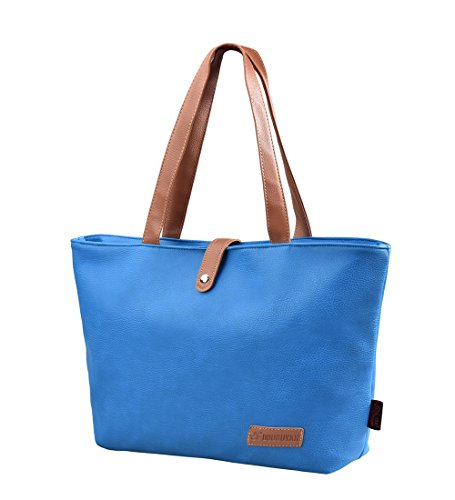 Gezu Beuteltasche Handtasche Vintage PU Shopping Bag Umhängetasche Damen Messenger Bag GZ00251