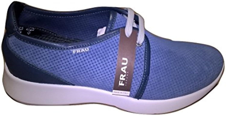 Frau Herren Sneaker Blau Denim  Billig und erschwinglich Im Verkauf