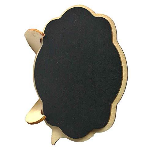 ni Tafel aus Holz Wolke Form Brett Hochzeit Tischdeko Nachricht Hinweis Kleine Tafel ()