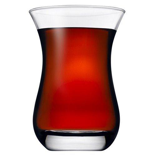 Pasabahce 62511 Aida Teeglas 14cl ohne Henkel, 6 Stück
