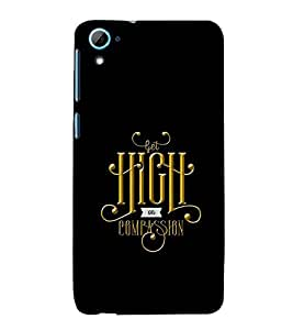 PrintVisa Designer Back Case Cover for HTC Desire 826 :: HTC Desire 826 Dual Sim (Quote Love Heart Messages Crazy Express Sorry )