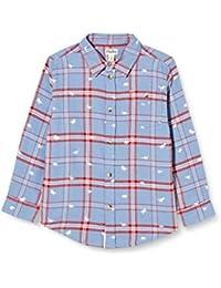 Hatley Button Down Shirt Camisa Abotonada para Niños