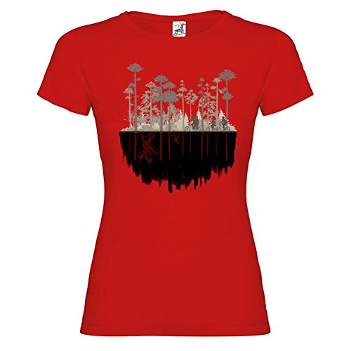 Bikerella T-shirt manica corta Donna Stranger Things Upside Down by by ROSSO/COLOR