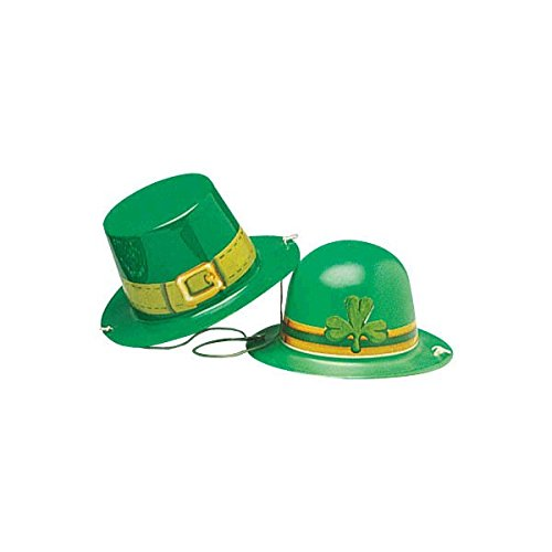 Amscan International 25305-99St. Patrick 's Day Mini Kunststoff Hüte (Day Patrick S St Party)