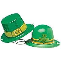 Amscan International – 25305 – 99 día de San Patricio Mini plástico  sombreros 1ba54ccfb01