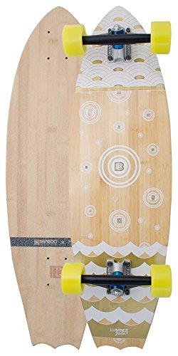 Bambus Skateboards Fledermaus Schwanz chaac - 9 Skateboard Blank Decks