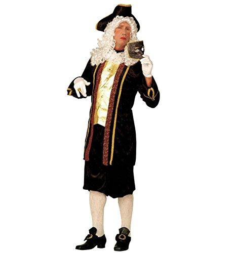 Imagen de widman  disfraz de noble veneciano para hombre, talla uk 44  46 w3143
