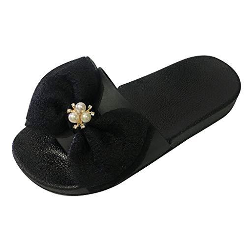 Darringls_Sandalias de Primavera Mujer,Zapatillas Zapatos de cuña Verano Pellizcar Botas Sandalias de Playa Punta Redonda
