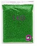1KG- Perles de cire à épiler pelable VERTE, épilation sans bande - sachet de 1000gr, soit 1kg de pastilles de cire, PUREWAX by Purenail TOP PROMO
