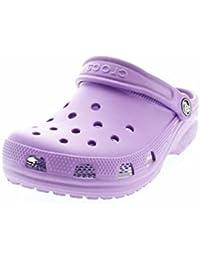Amazon.fr   Crocs Violet - Mules et sabots   Chaussures fille ... 8b7fff43b91d