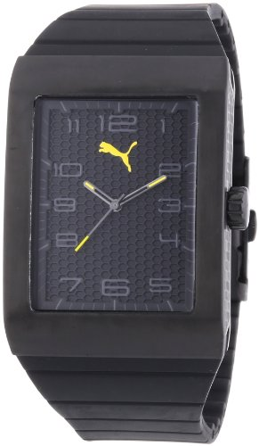 Puma Time PU102761003 - Orologio da polso uomo, plastica, colore: nero