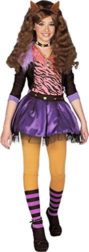 Kostüm Lizenz monster high clawdeen wolf 10/12 (High Monster Kind Wolf Kostüme Clawdeen)