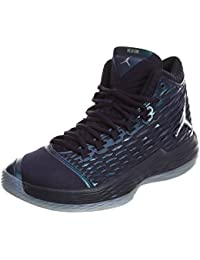 Jordan MELO M13 BG Boys Basketball-Shoes 895951-505 5.5Y - Purple Dynasty 33b07fa1e0d