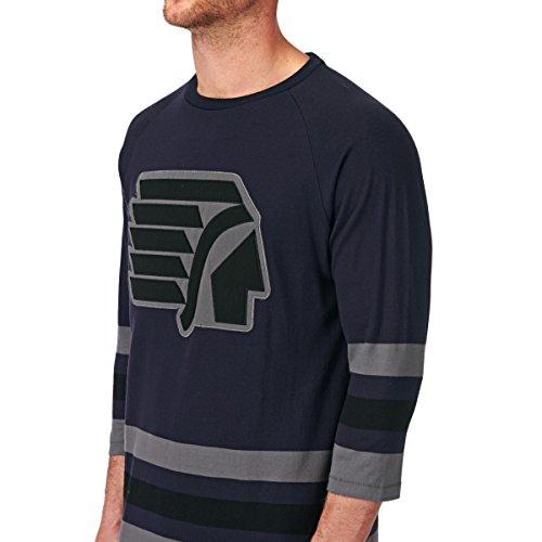 Herren Langarmshirt DC Clarck T-Shirt Blue Iris