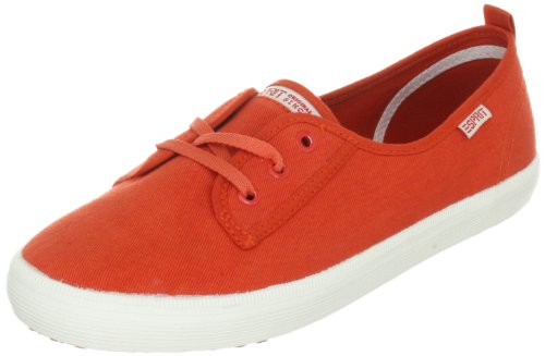ESPRIT Italia Lace Up E13015 Damen Sneaker Orange (california orange 845)