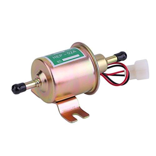 Ndier 12V universale gas Inline auto elettrica pompa carburante olio per motori diesel benzina