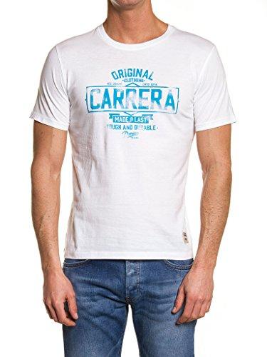CARRERA Herren T-Shirt 00801m/0047a/005 002 - Weiß