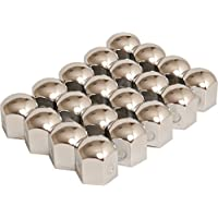 Autostyle SY wn19s Wheel Nut Covers Chromed Steel 19/ mm//20pcs