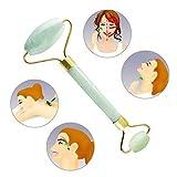 Royal Jade Roller Massager, Goodsmiley che dimagrisce il viso facciale Viso Massaggio-ringiovanisce la pelle del viso e del collo, faccia più sottile