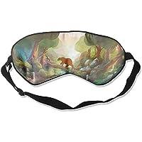 Sleep Eye Mask Forest Bear Lightweight Soft Blindfold Adjustable Head Strap Eyeshade Travel Eyepatch preisvergleich bei billige-tabletten.eu