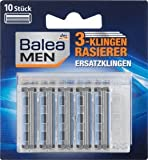 Balea MEN 3-Klingen Rasierklingen, 1 Packung mit 10 Stück