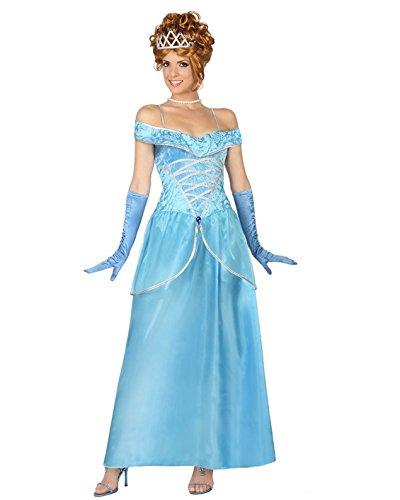 Atosa 29000 - Prinzessin, Damenkostüm, Größe 34/36, (Gute Kostüme Fee)