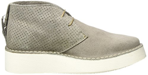 SELECTED FEMME Sfaletta Chukka Boot, Sneakers Basses Femme Gris (Grey)